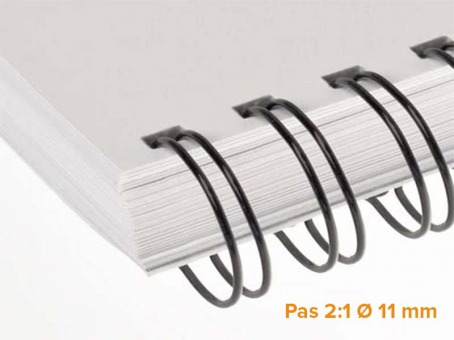 "RENZ - Wire Pack de 100 Ring Wire pas 2:1 diamètre Ø 11 mm (7/16"")"