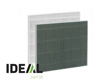 IDEAL AW60 - Filtre multi-couches (filtre HEPA + charbon actif)