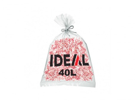 IDEAL - Lot de 100 sacs en plastique jetables